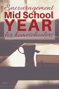 mid-year encouragement for homeschool moms