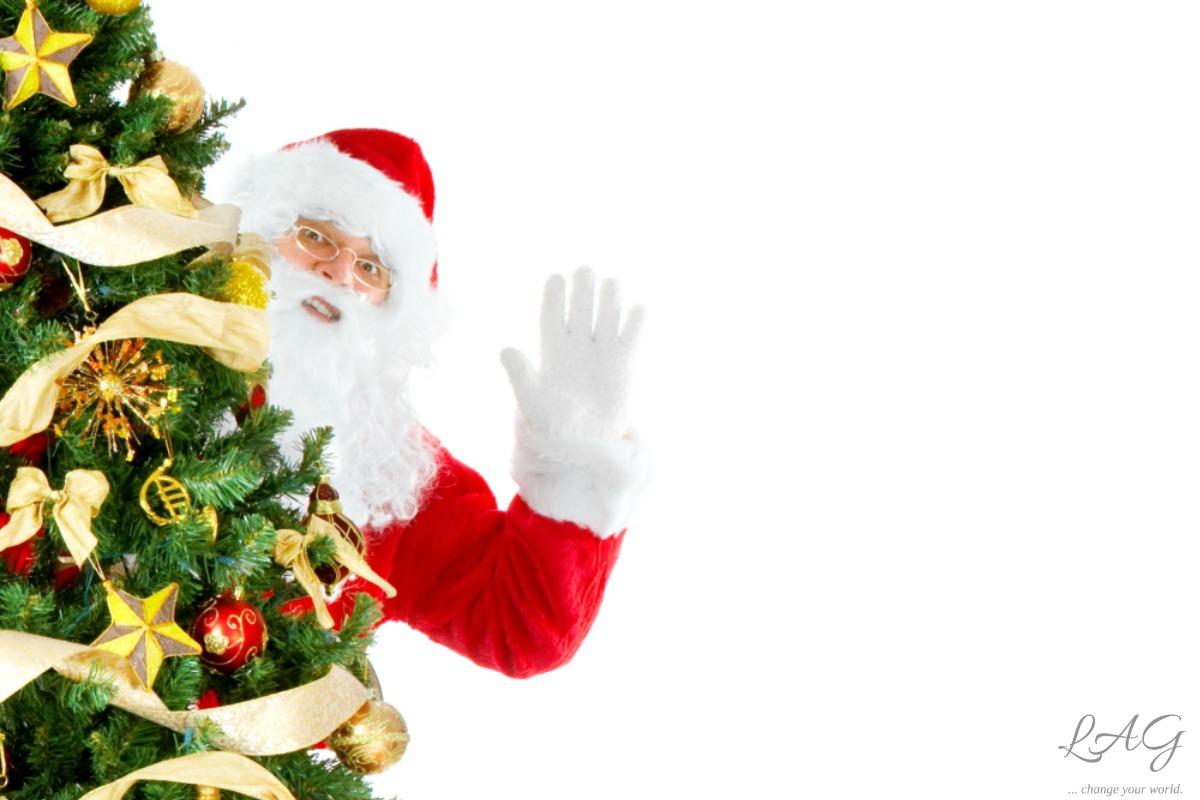 How much of the Santa tale is real? via lagarfias.com