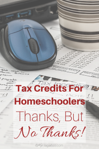 Federal tax credits for homeschoolers?