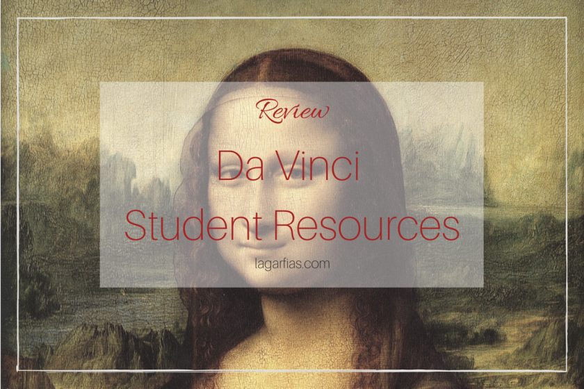 Resources to teach about da Vinci in your #homeschool