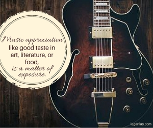 Music appreciation,