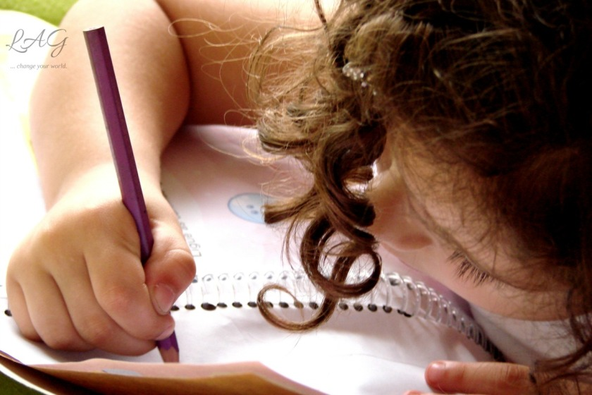 How do you begin teaching children to write? via lagarfias.com