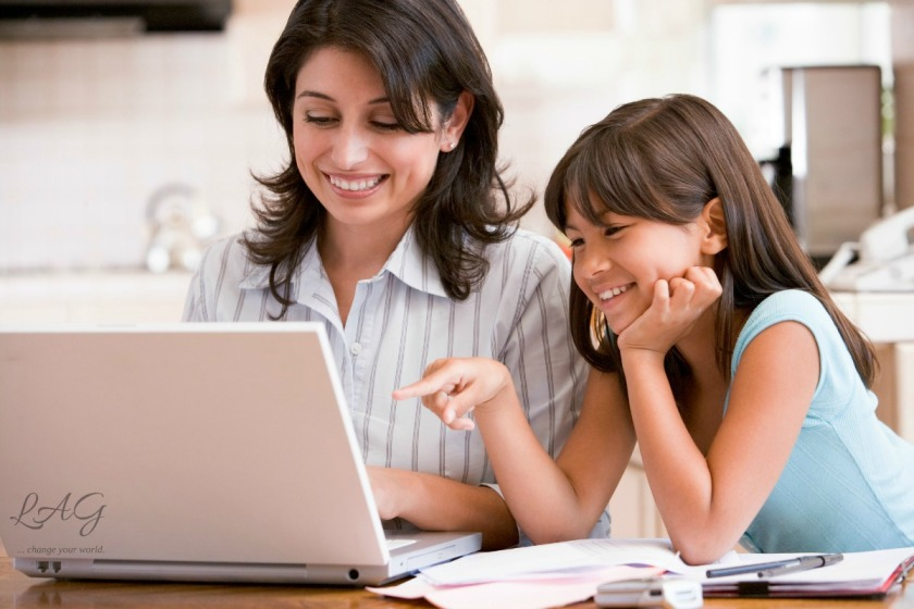 do women work while homeschooling? via lagarfias.com