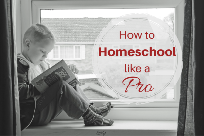 how to homeschool like a pro