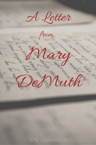 A Letter from Author Mary DeMuth