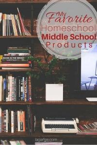 A peek into my homeschool middle school bookshelf.