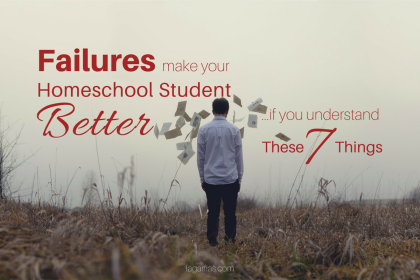 We cheat our students when we don't let them fail.