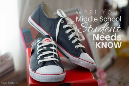 What does your middle school student need to know before high school?