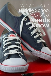 What middle school students must know before high school