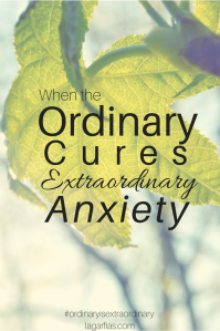 It is the ordinary routine that binds us to what matters. #ordinaryisextraordinary