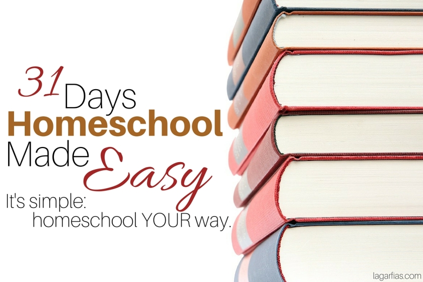 make homeschooling simple and get back your love of learning