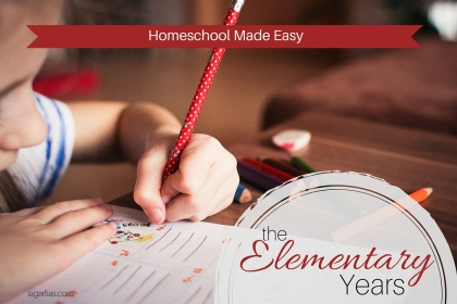 Get your elementary #homeschool started off right. #write31days