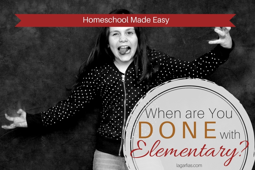 Is your #homeschool student ready for middle school? Here's how to tell. #homeschoolmadeeasy