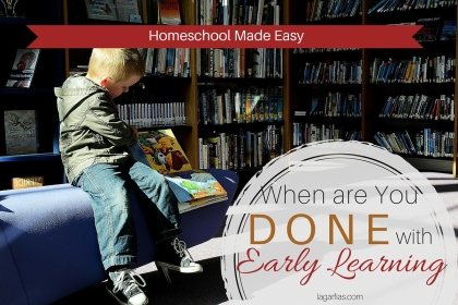 Is your homeschool student ready for elementary-level studies? #homeschool #write31days