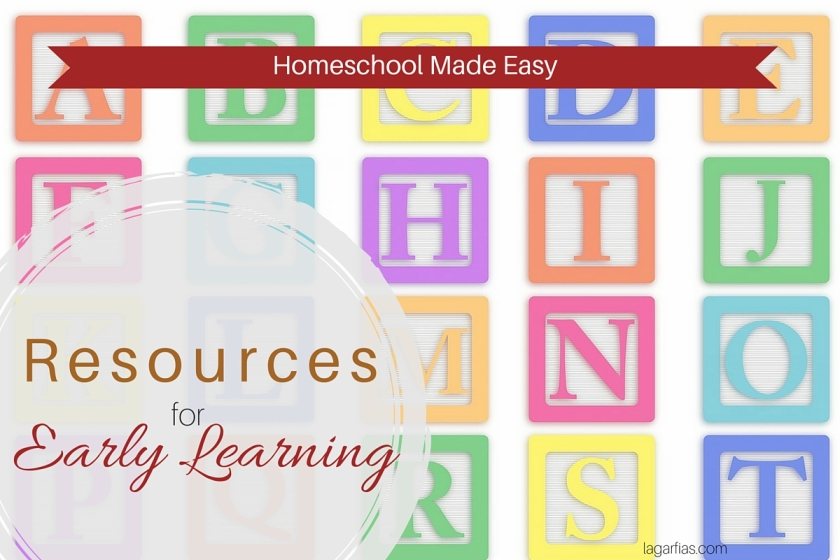 What do you need to #homeschool your preschooler? Far less than you think! #write31days