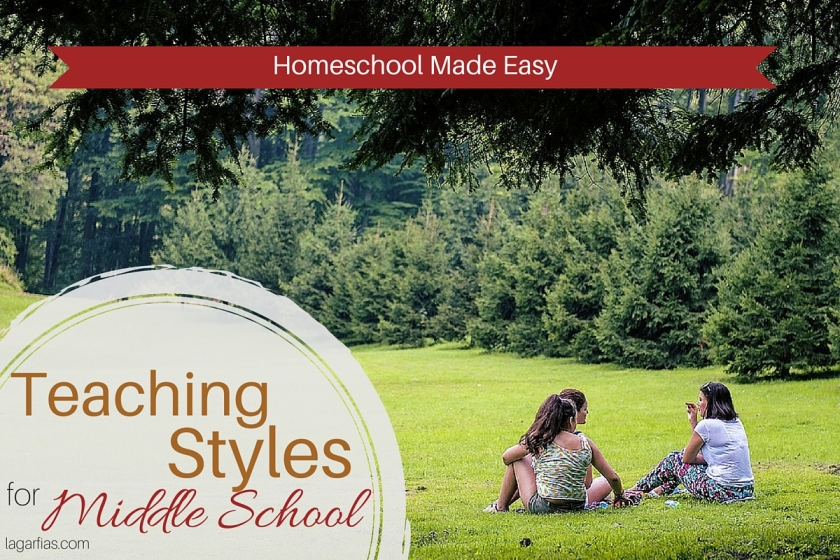 Teach your #homeschool middle school student the way that is best for YOU! #homeschoolmadeeasy