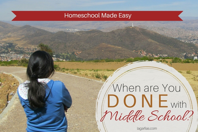 Is your middle school ready to start high school? #homeschool #homeschoolmadeeasy