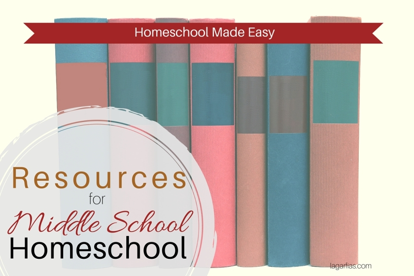 How to choose your #homeschool resources for middle school #homeschoolmadeeasy