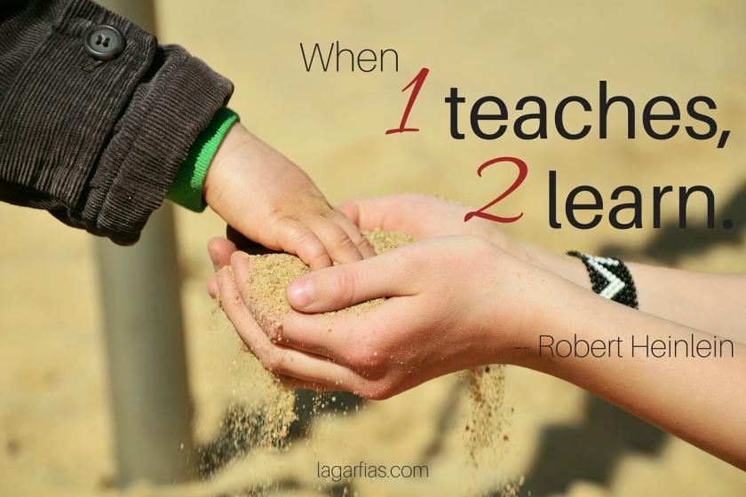 When 1 teaches, 2 learn. #homeschool #homeschoolmadeeasy