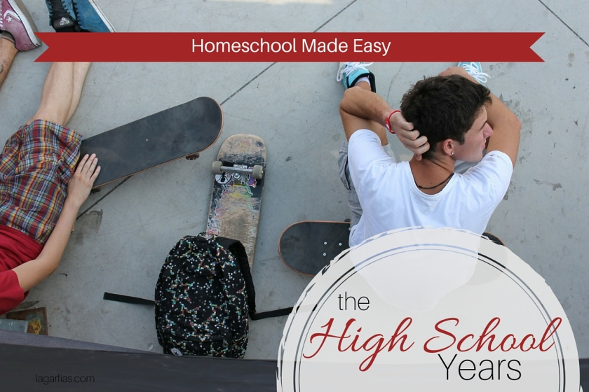 Make #homeschool for high school easy! #homeschoolmadeeasy