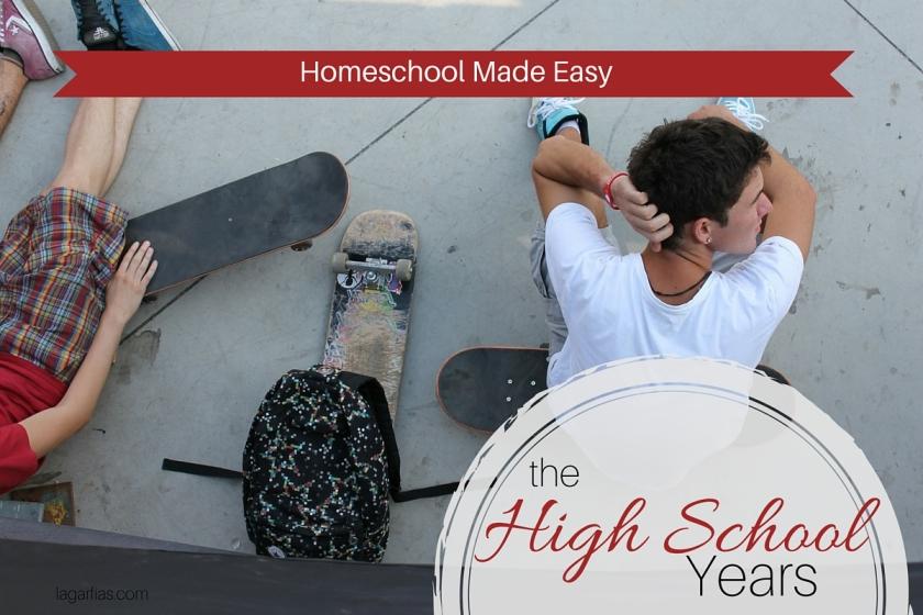 Make #homeschool for high school easy! #homeschoolmadeeasy