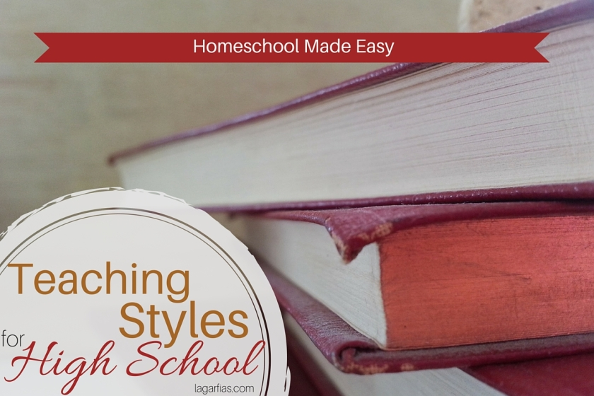 Help your #homeschool high school student learn independently -- no matter your teaching style! #homeschoolmadeeasy