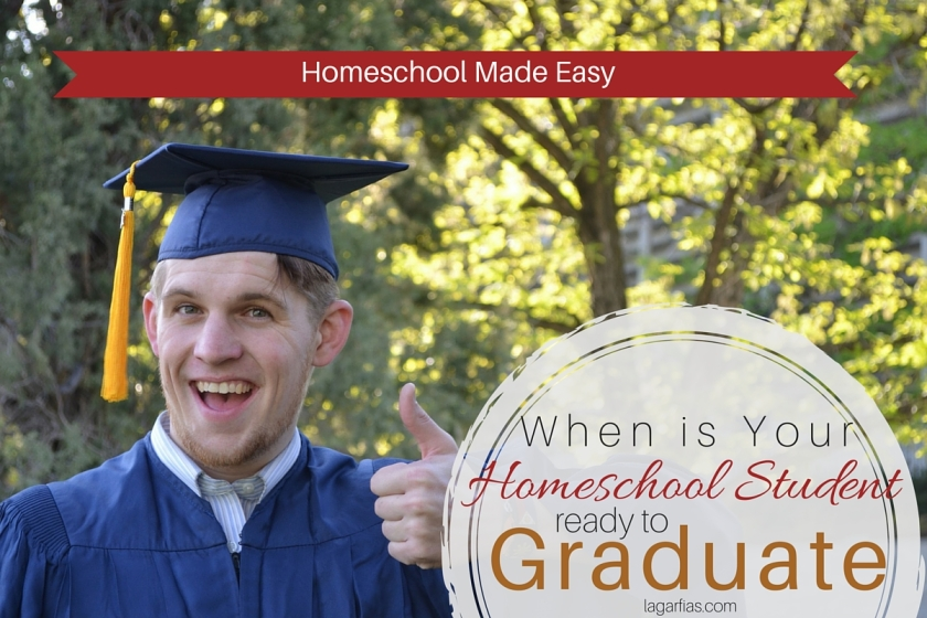 How to know if your #homeschool student is ready for graduation #homeschoolmadeeasy