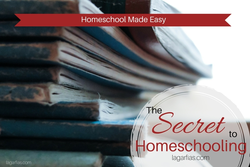 Here's the secret to #homeschool success #homeschoolmadeeasy