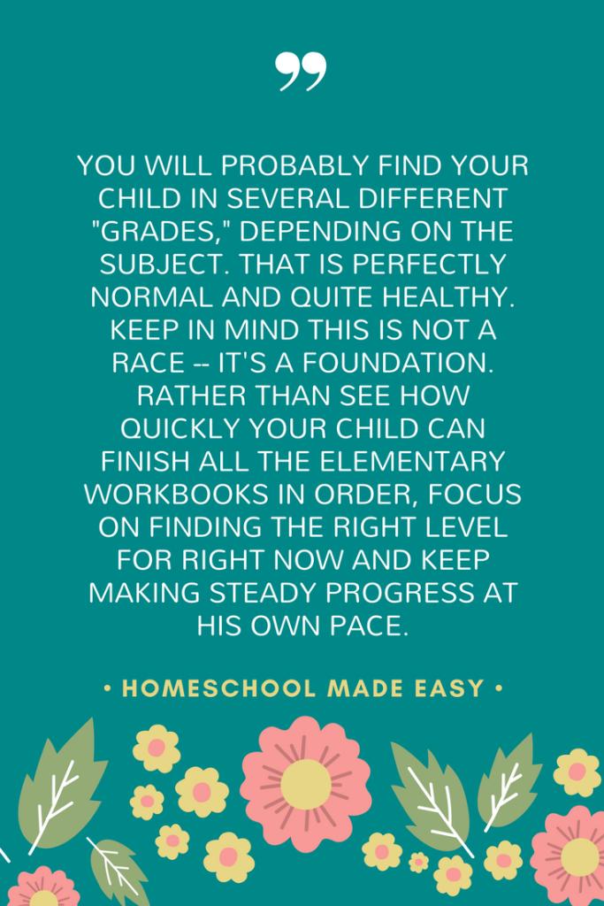 What grade is your homeschool student?