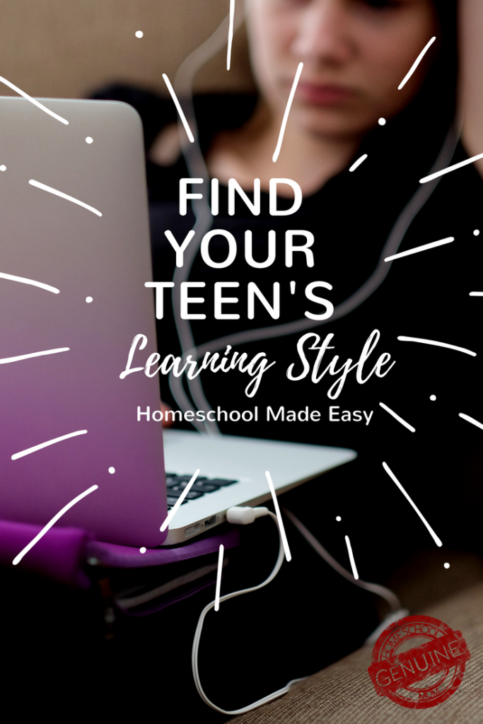 Find Your Teen's Learning Style