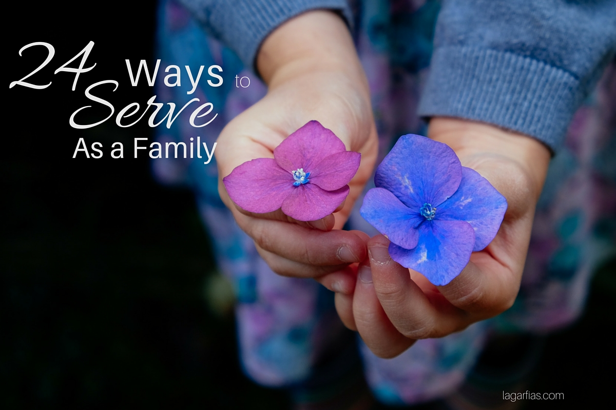 24 Ways to Serve as a Family