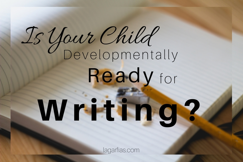 is your student developmentally ready for writing? #homeschool #homeschoolmadeeasy