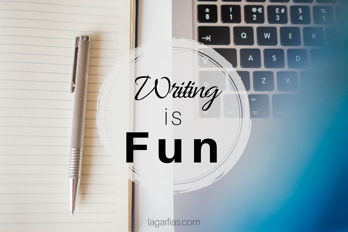 Writing is Fun!