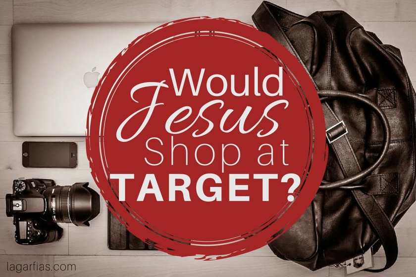 Would Jesus shop at Target?