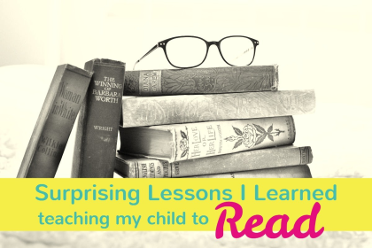 7 Surprising Lessons I learned teaching my children to read