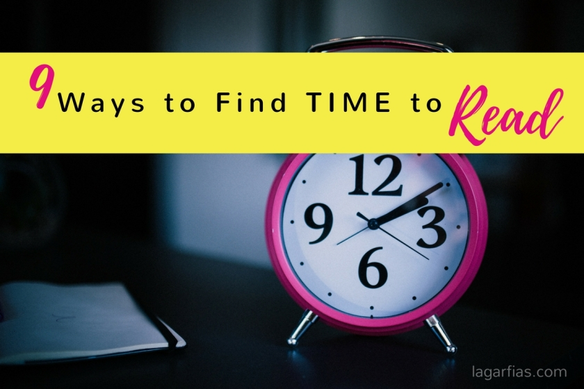 9 Ways to find time to read