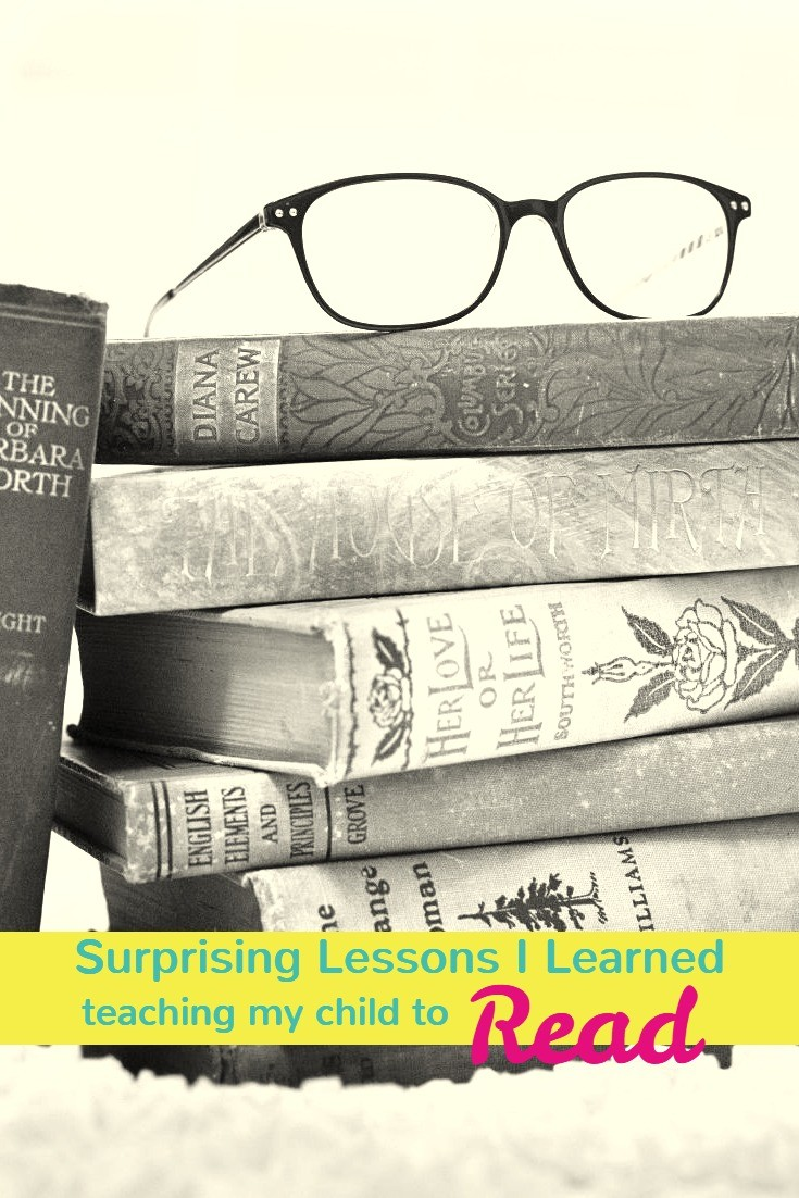 surprising lessons I learned teaching my children to read