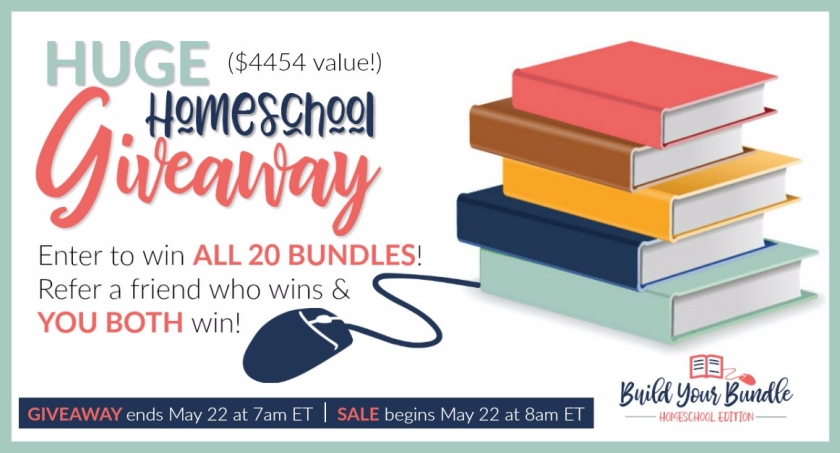Huge Homeschool Giveaway Worth over $4000!!