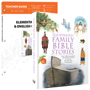 MasterBooks Elementary Bible and English Grammar | a unique combination study for 4th-6th grade students