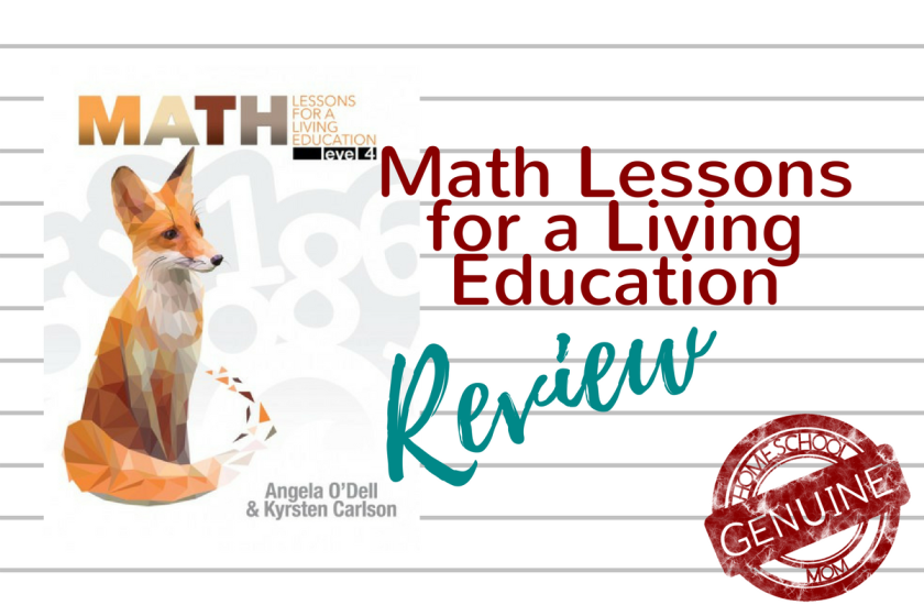 Math Lessons for a Living Education offers a simple solution for Charlotte Mason and classical homeschoolers.